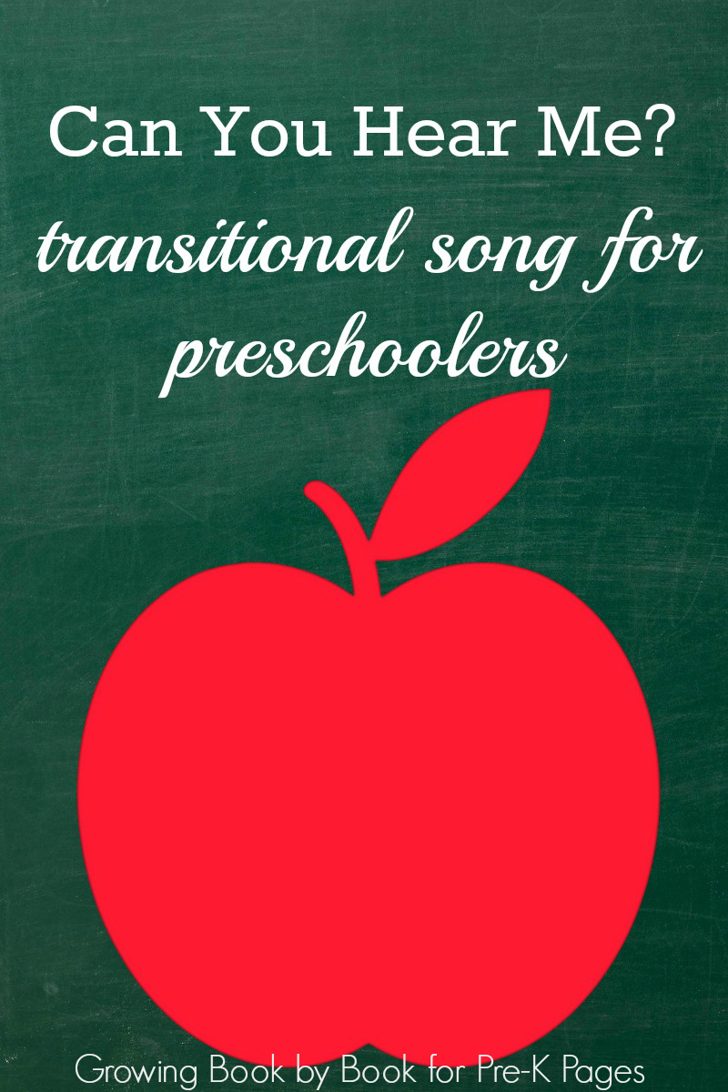 transition song for preschool