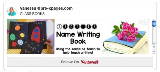Class Books Pinterest Board