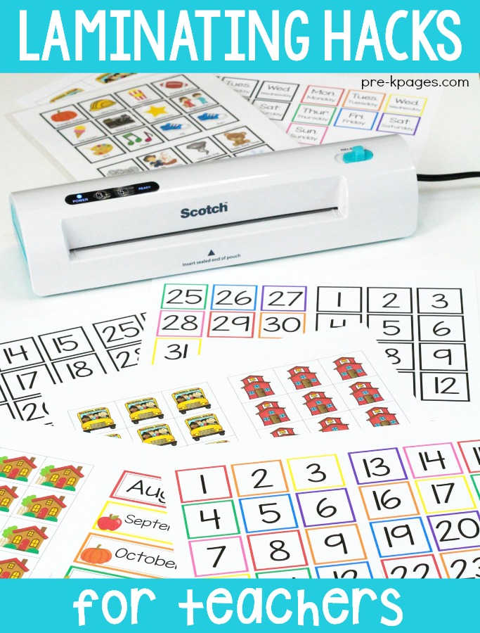 Laminating Tips for Teachers