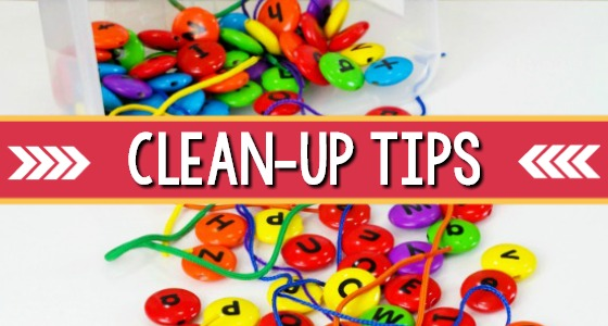 Clean Up Tips