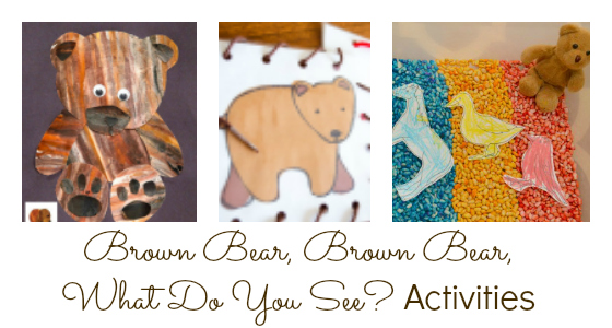 Activities for Brown Bear, Brown Bear, What Do You See?
