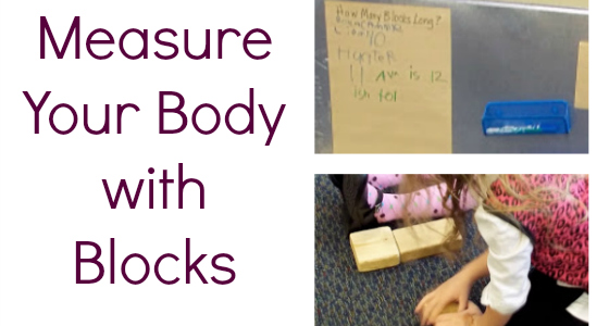 Measure Your Body with Blocks