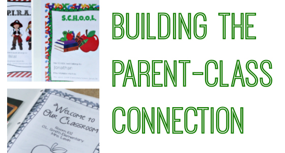 Building the Parent-Classroom Connection