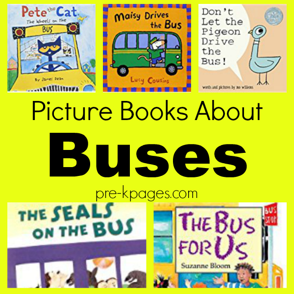 picture books buses for pre-k
