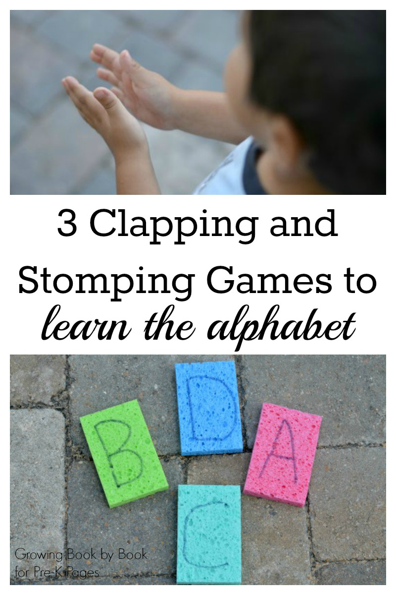 Clapping and Stomping Games for preschool