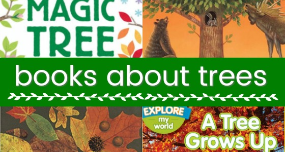 Books About Trees for Preschoolers