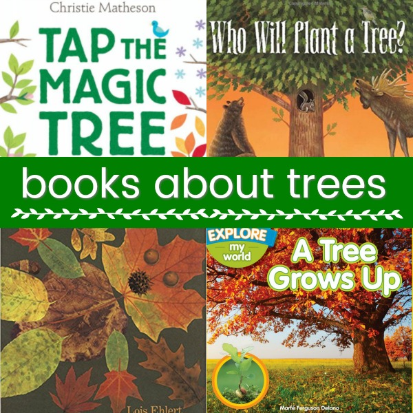 Books About Trees for Preschool