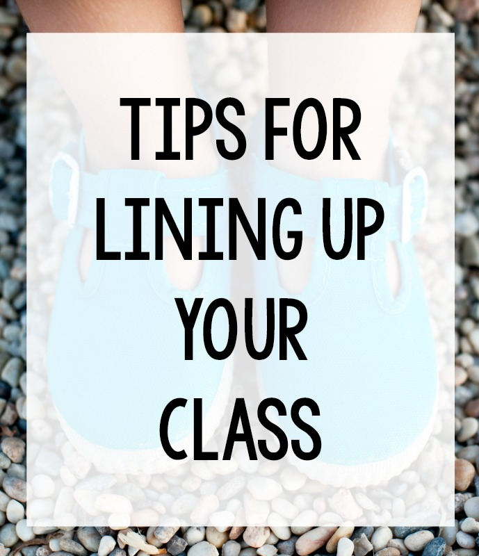 Lining Up Tips for Preschool and Pre-K