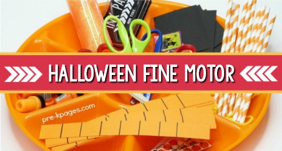 Halloween Fine Motor Activities