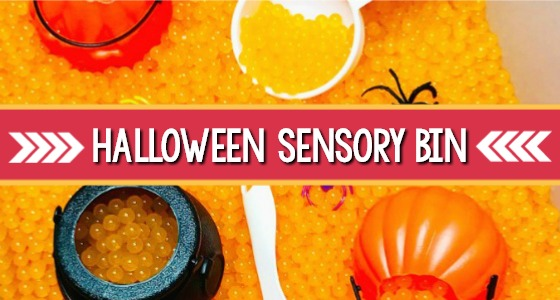 Halloween Sensory Bin Activity