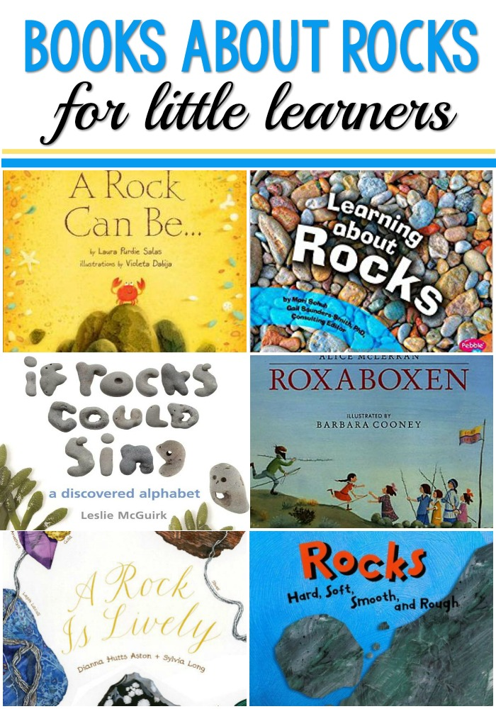 Books About Rocks for Preschool and Kindergarten