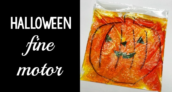 Halloween Fine Motor Sensory Bag