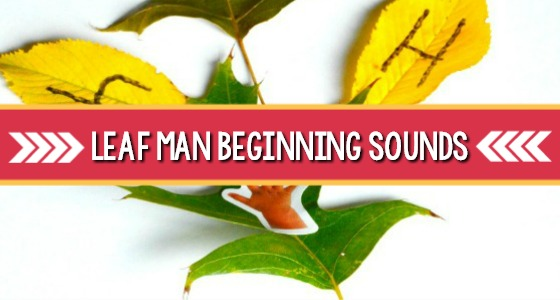 Leaf Man Beginning Sounds Activity