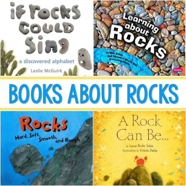 Science Books About Rocks for Kids