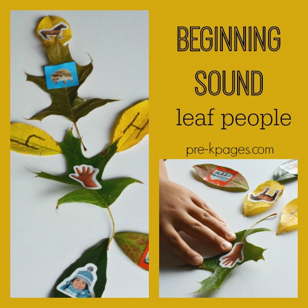 leaf man beginning sounds