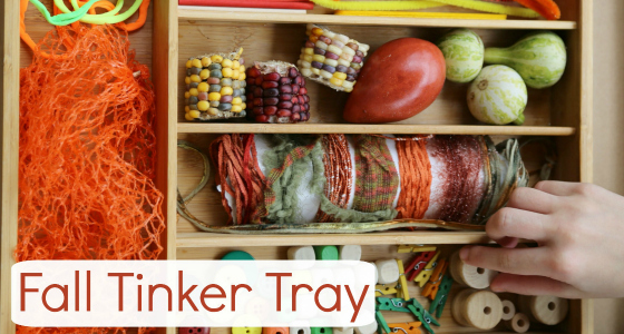 Fall Tinker Tray
