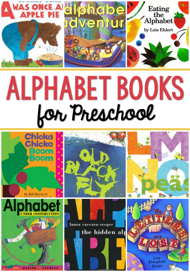 Alphabet Books for Preschool