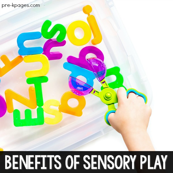 Benefits of sensory play in preschool
