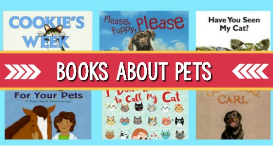 Books About Pets for Preschool