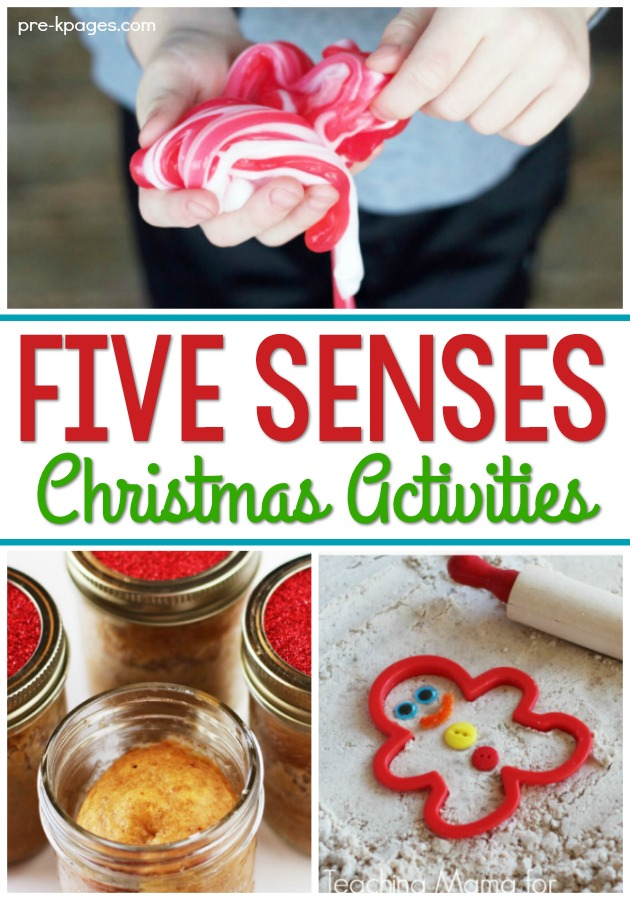 Five Senses Activities For Christmas Pre K Pages