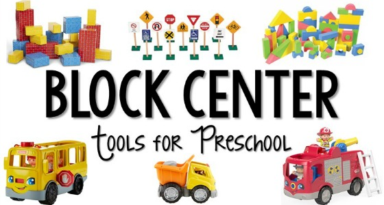 How to Set Up the Blocks Center in Preschool