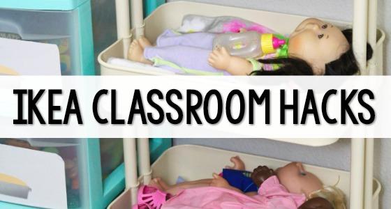 Ikea Hacks for the Preschool Classroom