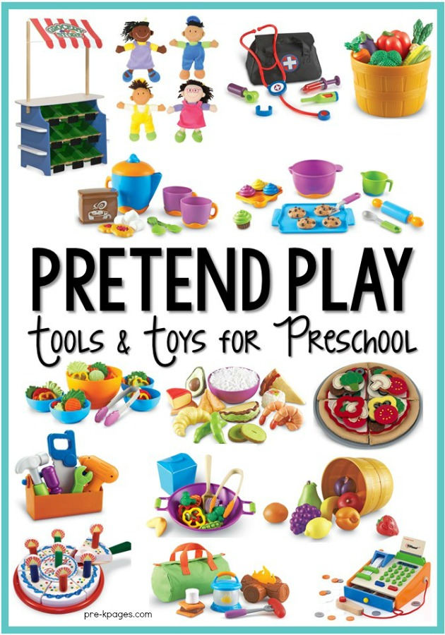 Pretend Play Tools and Toys for Preschool