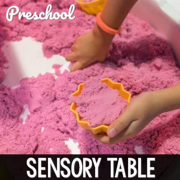 Sensory Table for Toddlers