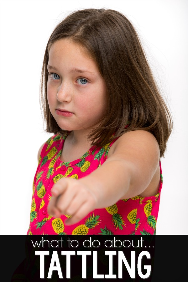 What to do about tattling in the classroom