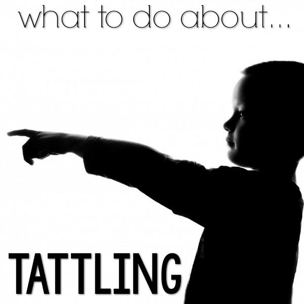 Why do kids tattle