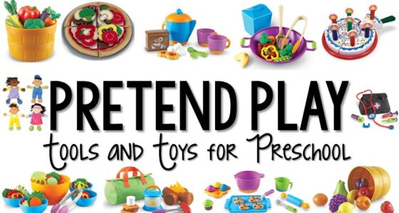 Dramatic Play Tools and Toys for Preschool