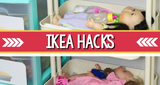 Preschool IKEA Hacks