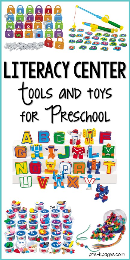 Best Literacy Center Tools and Toys for Preschool