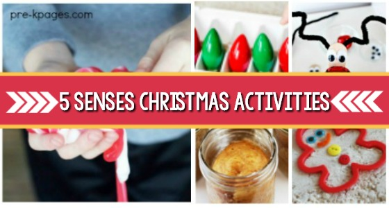 Five Senses Activities for Christmas