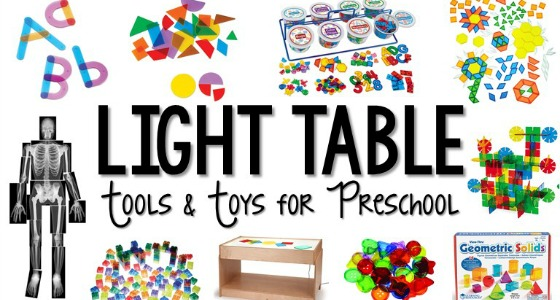 Best Light Table Toys for Preschool