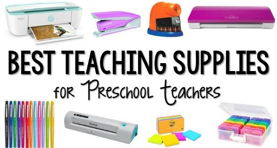 Best Preschool Teaching Supplies for Teachers