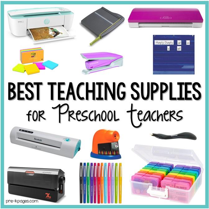 Best Teaching Supplies for Preschool Teachers