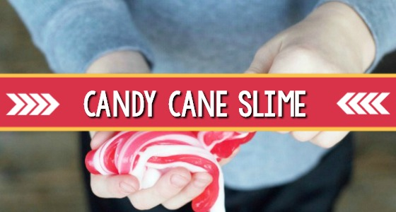 Candy Cane Christmas Slime Recipe