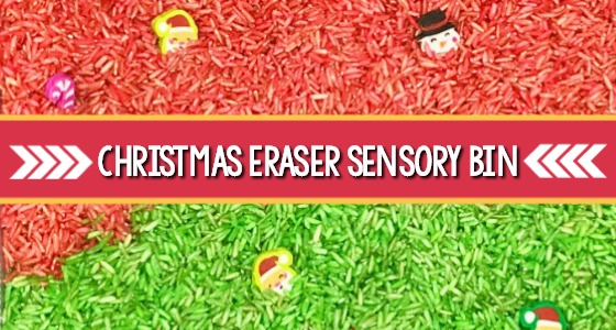 Christmas Sensory Bin Search and Find Printable