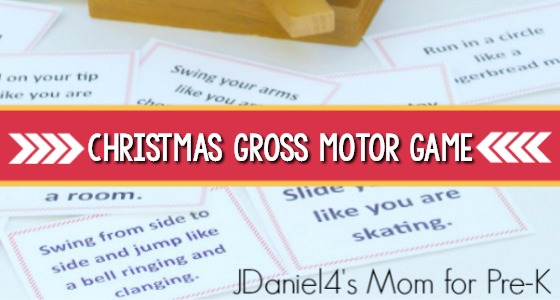 Christmas Movement Activities For Preschoolers