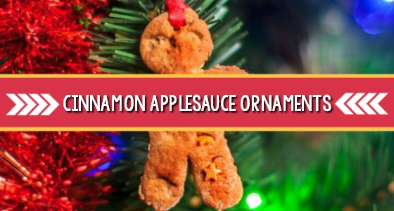 No Bake Cinnamon Ornaments for Preschool