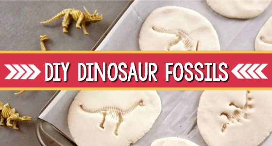 How to Make Dinosaur Fossils with Salt Dough