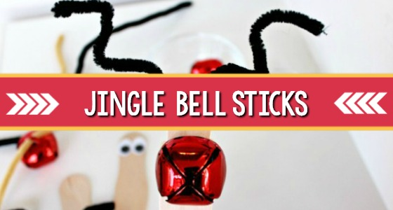 Christmas Jingle Bell Sticks