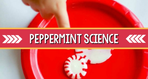 Peppermint Candy Cane Science Experiment