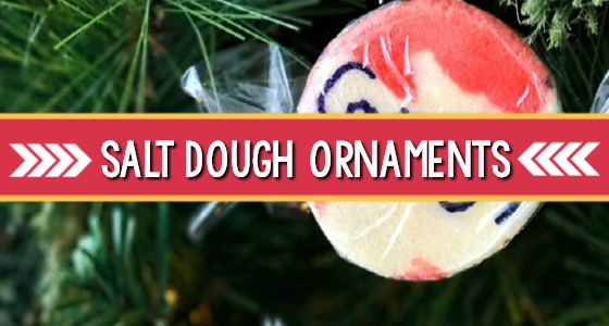 Salt Dough Ornaments Kids Can Make