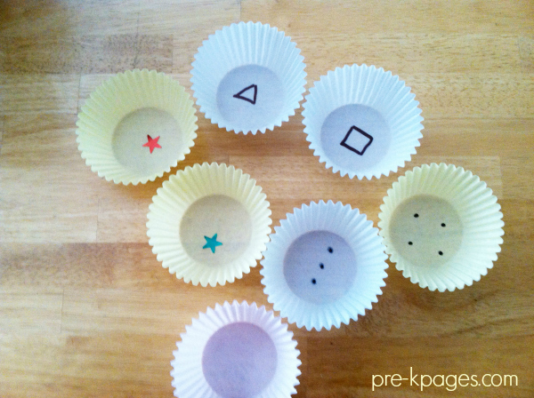 muffin cup variations muffin man game