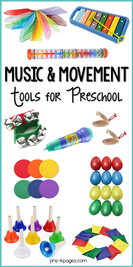 Best Music and Movement Tools for Preschool