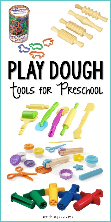Best Playdoh tools and toys for preschool