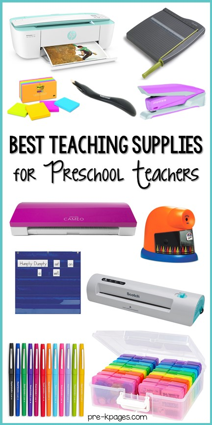 Must Have Teaching Supplies for Preschool