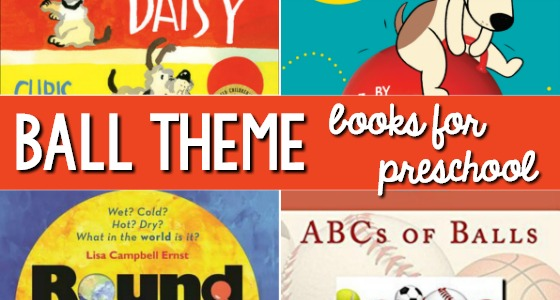 Ball Theme Books for Preschool